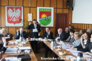 Sesja budżetowa Kramsk