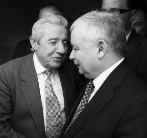 Jarosław Kaczyński i Stanisław Skrobania