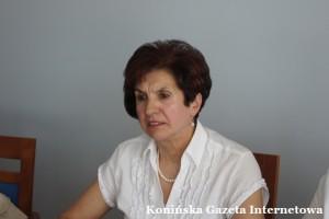 Przewodnicząca Anna Kapturska