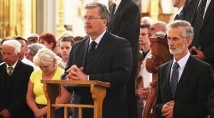 Prezydent w Licheniu