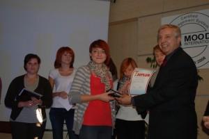 IS_Nagrodzeni uczniowie w konkursie wiedzy fryzjerskiej-2011