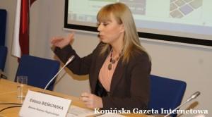 Minister rozowju regionalnego Elżbieta Bieńkowska
