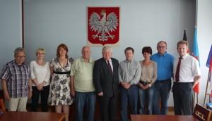 Wizyta delegacji niemieckiej