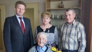 Najstarszy mieszkaniec gminy Golina