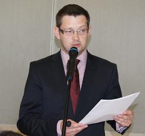 Burmistrz Mariusz Zaborowski