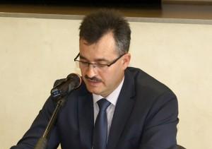 Przewodniczący Rady Miejskiej Stanisław Chrzanowski