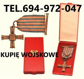 KUPIE-WOJSKOWE-STARE-ODZNACZENIAODZNAKIMEDALE-TELEFON-694972047