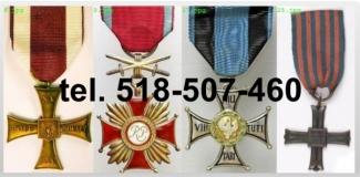 Kupie-stare-ordery-medale-odznaki