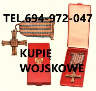KUPIE-ODZNACZENIAODZNAKIMEDALEORDERY-STARE-WOJSKOWE-TELEFON-694972047