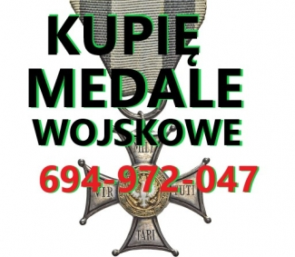 KUPI-ODZNACZENIAODZNAKIMEDALEORDERY-STARE-WOJSKOWE-TELEFON-694972047